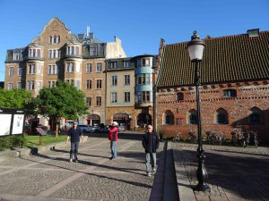 Die Altstadt von Ystad
